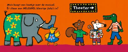 Muis gaat naar een musical – prentenboek om samen te lezen voor theaterbezoek