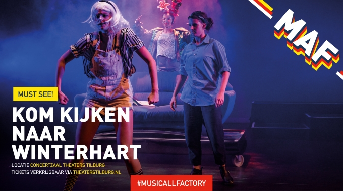 MusicAllFactory Jongeren speelt 'WINTERHART' de Musical