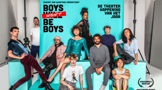 Landelijke theaterhappening toont mannen in al hun glorie