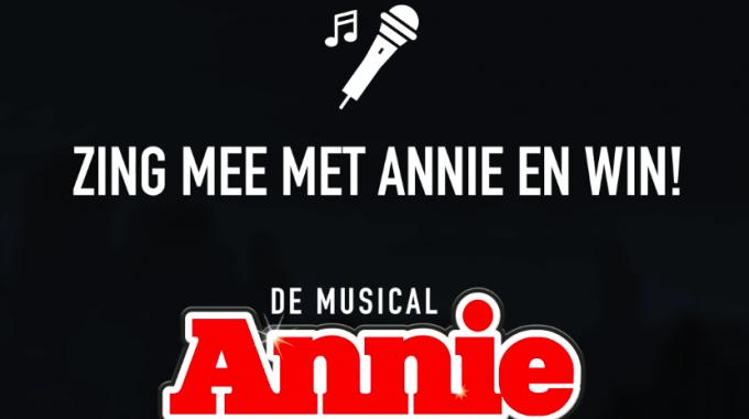Annie opent de Uitmarkt Musical Sing-a-Long