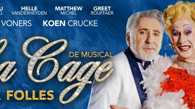 HELLE VANDERHEYDEN vervoegt de cast van 'LA CAGE AUX FOLLES', de musical