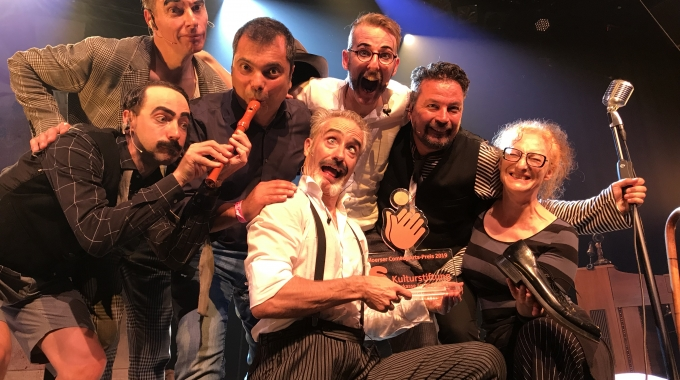 SLÄPSTICK wint wederom internationale comedy prijs