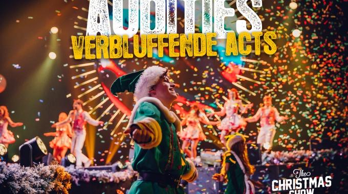 The Christmas Show zoekt naar verbluffende acts voor Lotto Arena!