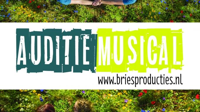 Musicalgroep Bries Producties houdt audities!