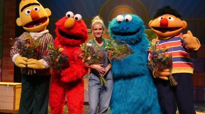 Feestelijke première voor Sesamstraat Live!