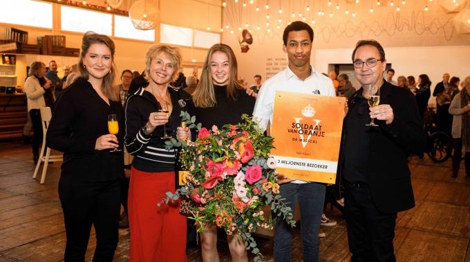 Soldaat van Oranje – De Musical ontvangt 3 miljoenste bezoeker