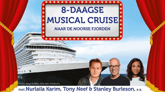 NURLAILA KARIM & TONY NEEF VAREN MEE MET MUSICAL CRUISE  2020