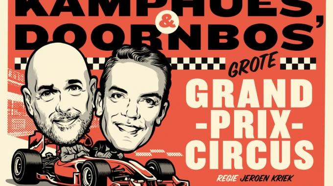 Rob Kamphues en Robert Doornbos geven gas op de planken in exclusieve theatertournee