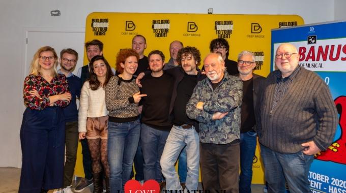'Jonas Van Thielen' krijgt in de Urbanus-musical het verrassende gezelschap van o.a. Bart 'Freddy De Vadder' Vanneste, Gunter Lamoot en Veerle Malschaert.