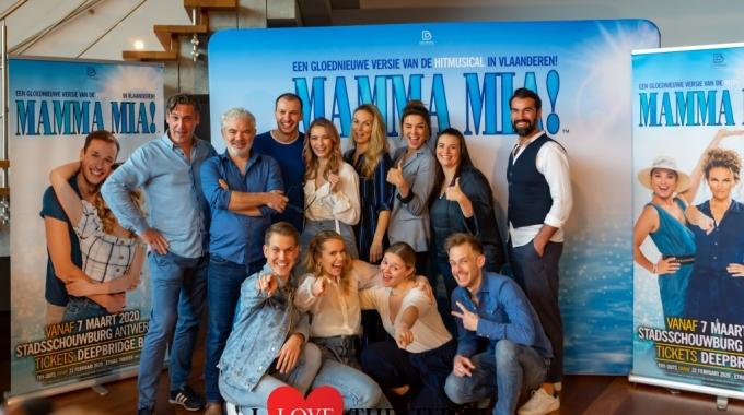 Castvoorstelling MAMMA MIA! Belgie – FotoReportage