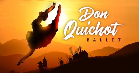 Meeslepende balletvoorstelling 'Don Quichot' strijkt op 14 mei 2020 neer in Stadsschouwburg Antwerpen