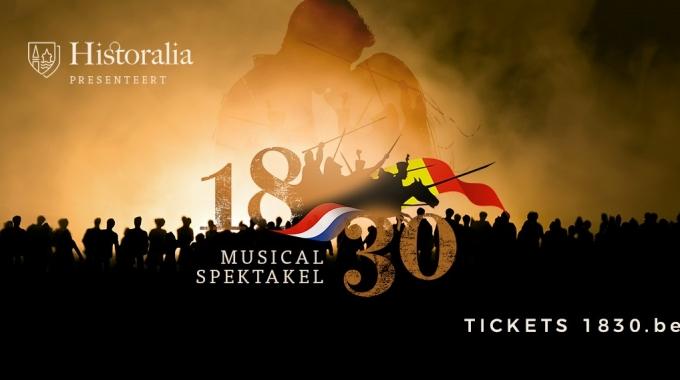 Historalia biedt met musicalspektakel '1830'  revolutionaire kijk op ontstaan van Koninkrijk België