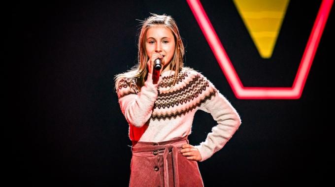 'Annie' Chaya Van Mol (12) waagt vrijdag haar kans in The Voice Kids (VTM)
