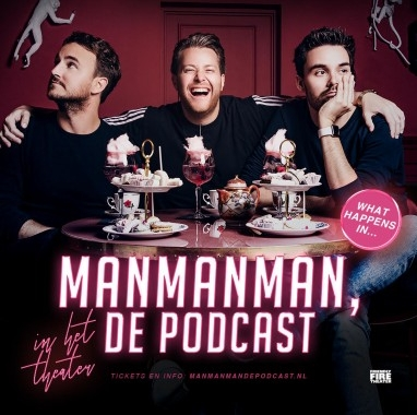 Man man man, de podcast opnieuw op tour langs Nederlandse theaters