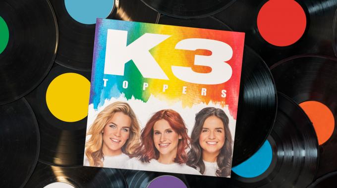 Allereerste K3 vinyl scoort bij Nederlandse fans