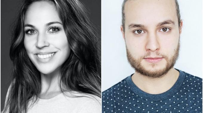Laurie Reijs en Jessin Oulad-el-Hadj zijn de docenten van de musicalklassen van Musical 2.0