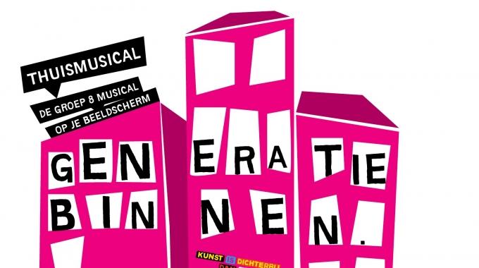 Theatergezelschap BonteHond en KIDD lanceren 'Generatie Binnen': de alternatieve groep 8 musical op je beeldscherm