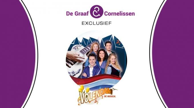 Producent De Graaf en Cornelissen plaatst Volendam de Musical integraal op YouTube