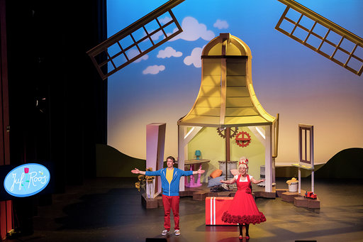 Familievoorstelling Juf Roos komt met coronaproof drive-in theater naar het Breepark in Breda
