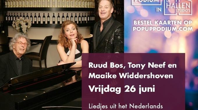 Beste theaterliefhebbers, hier een berichtje van Tony Neef, Ruud Bos en Maaike Widdershoven.