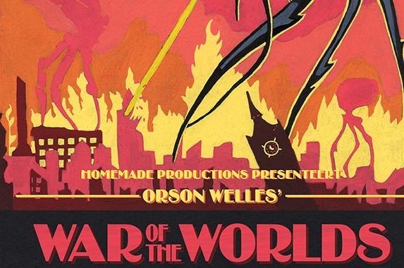 'Rumoer rond War Of The Worlds hoorspel wordt muziektheater'