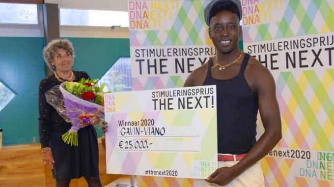 Gavin-Viano wint eerste stimuleringsprijs The Next!