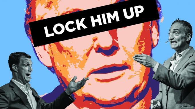 Humor in het kwadraat: Boom Chicago's 'Lock Him Up' is een hilarisch meesterwerk over de Amerikaanse verkiezingssoap