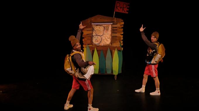 Robbie & Roef, geïnspireerd op prentenboek Tweeling, dit seizoen te zien in theaters