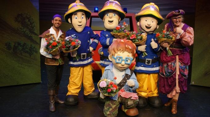 Brandweerman Sam gaat weer live!
