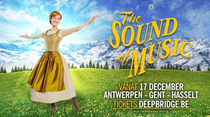The Sound of Music start op 17 december in Stadsschouwburg Antwerpen.
