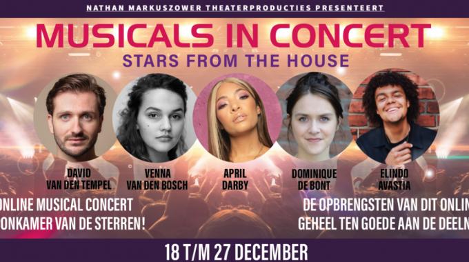 Tweede Editie Musicals in Concert: Stars From The House