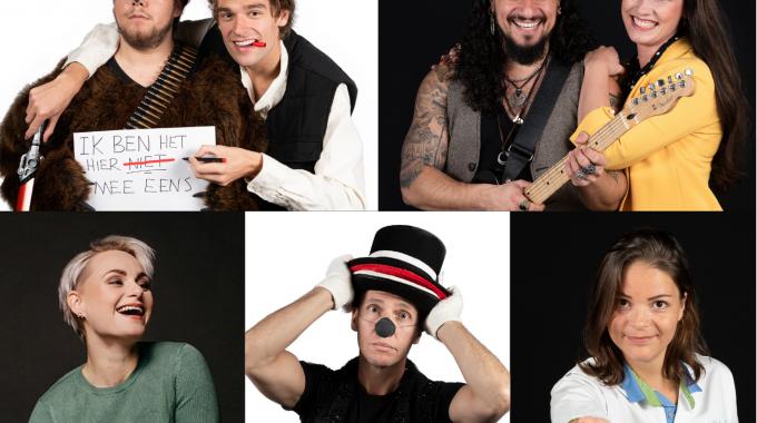 TapasTheater open rondom de feestdagen met musicalartiesten Marcel Visscher, Nina van Overbruggen en The Marvin Road