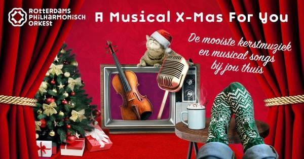 Rotterdams Philharmonisch Orkest geeft gratis online kerstconcert