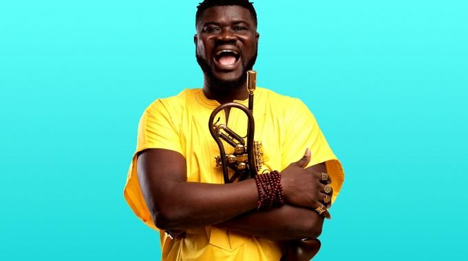 Music Stages presenteert Ghanese componist en trompettist Berima Amo op zondag 14 maart 2021