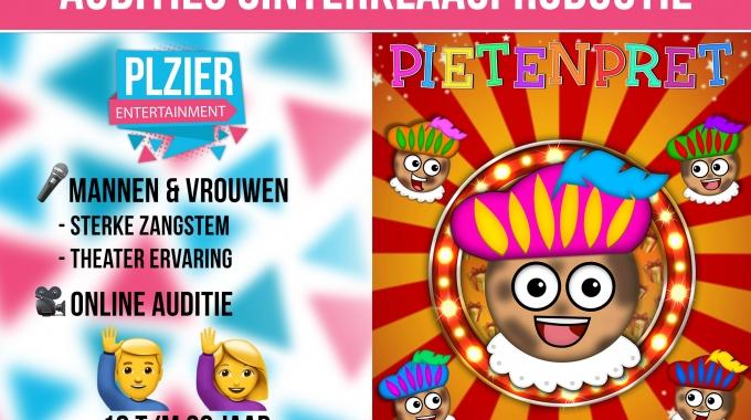 "Audities ""Pietenpret"" Plzier Entertainment"