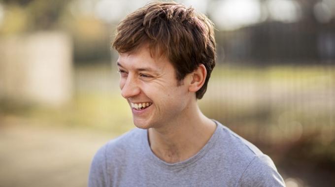 Tobias Nierop is Johan Cruijff in 14 de musical