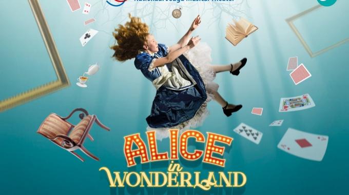 Nieuwe familiemusical Alice in Wonderland komend seizoen te zien in de theaters