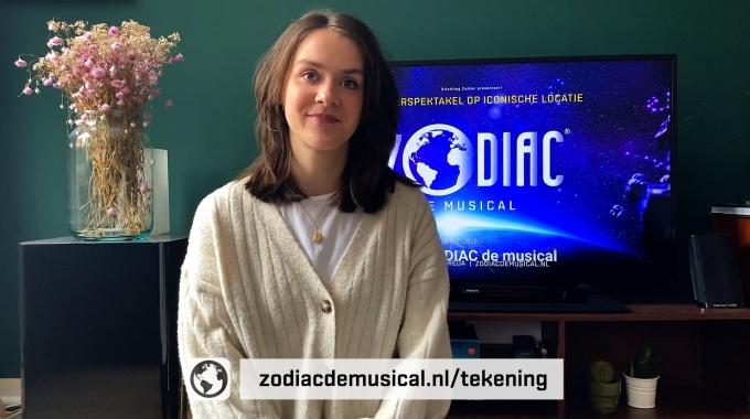 Hoofdrolspeelster Dominique de Bont doet oproep aan 8-jarige kinderen in Breda