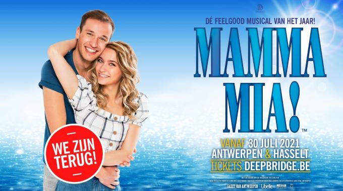 Hitmusical 'MAMMA MIA!' gaat door met extra voorstellingen!