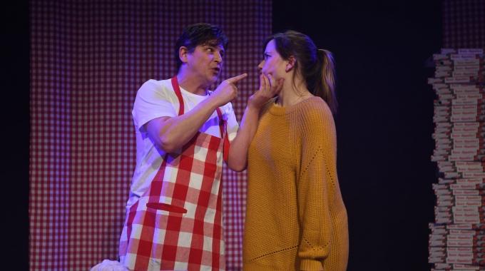 Barbara Sloesen en Leendert de Ridder in jeugdvoorstelling Romeo & Julia