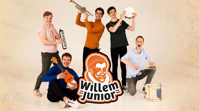 STENT Producties brengt 'Willem Junior' naar het theater én op school