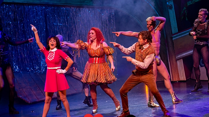 1e try-out Rocky Horror Show – Fotoreportage
