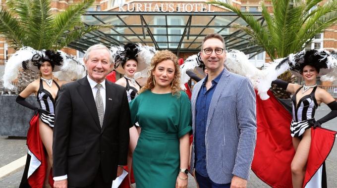 Grand Hotel Amrâth Kurhaus brengt Dinnershow Grandeur van Wentink, Forno & Partners naar Scheveningen