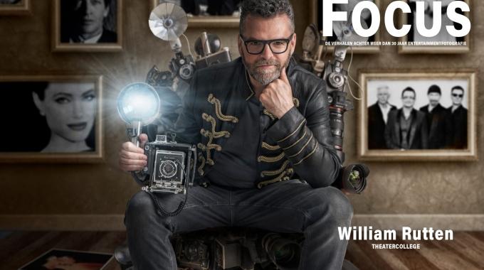 Maak kans op unieke portretfoto, Gemaakt door William Rutten tijdens zijn theatervoorstelling Focus